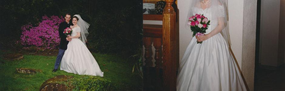 Badly taken wedding photos